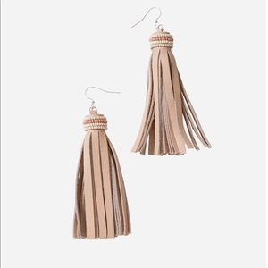 Noonday Pirouette Earrings, Blush
